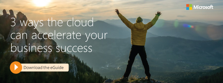 The cloud is ready when you are, Microsoft, Azure