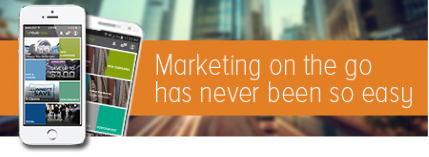 Marketing on the go has never been so easy